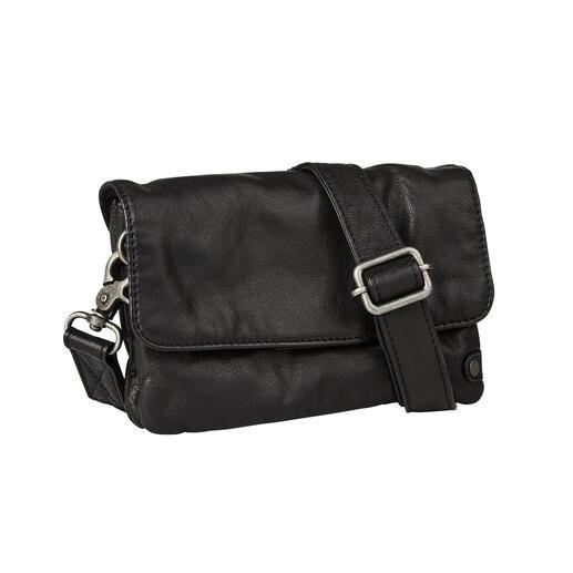 Depeche 2-in-1-Mini-Bag Tagsüber Vintage-Brieftasche. Abends angesagt lässige Cross-Body-Bag.