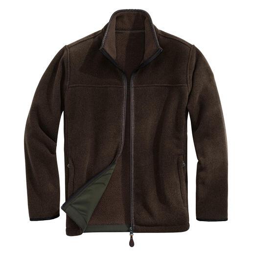 Die alltagstaugliche unter den Fleece-Jacken. Dank Polartec® Classic 300 Thermal Pro® winterwarm, Wind- und Wasser abweisend.