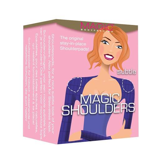 Die Schulterpolster für die perfekte feminine  Silhouette. Von MAGIC® Bodyfashion/Niederlande, Spezialist für clevere Accessoires mit mehr Tragekomfort.
