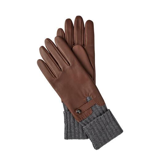 Roeckl Stulpen-Handschuhe Konsequenter Kälteschutz: der edle Leder-Handschuh mit integrierter Stulpe.