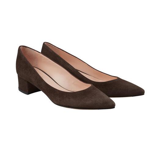 Die modischen Ballerina-Pumps: eleganter als Ballerinas, bequemer als Pumps. Von Casanova. Feinstes Schuhwerk made in Italy, seit 1949.