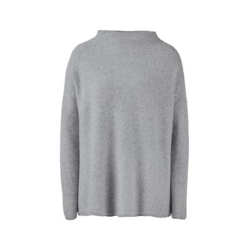 Der Boiled-Cashmere-Pullover mit aktuellem Turtleneck-Kragen. Wie wird erlesenes Kaschmir noch weicher, noch wärmer? Einfach heisses Wasser zufügen.