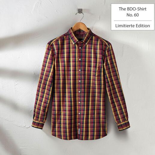 Das lässige Baumwoll-Hemd aus luftig-feinem Oxfordgewebe. Entdecken Sie einen guten alten Freund. Und vergessen Sie, dass ein Hemd gebügelt werden muss.