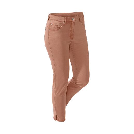 Die Zauberbund-Hose von RAPHAELA-BY-BRAX - Ihre wohl bequemste Hose. Nicht sichtbare Bundweiten-Reserve plus Power-Stretch-Effekt.