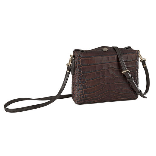 Die Boxy-Bag von Pourchet Paris. Trend-Form von heute trifft auf Täschner-Tradition seit 1903.
