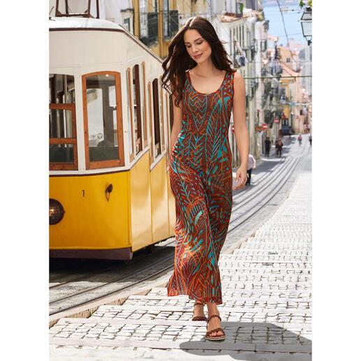 Das Designerkleid für die Handtasche. Und für fast jeden Anlass. Aus hauchzartem Tüll-Jersey. Von Fuzzi, Italien.
