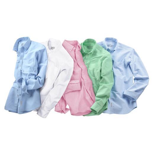 Die BDO-Hemden aus luftig-lässigem Oxford-Gewebe. Entdecken Sie einen guten alten Freund. Und vergessen Sie, dass ein Hemd gebügelt werden muss.