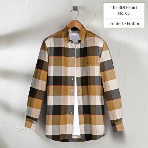 Das lässige BDO-Shirt aus luftig-feinem Oxfordgewebe. Entdecken Sie einen guten alten Freund. Und vergessen Sie, dass ein Hemd gebügelt werden muss.