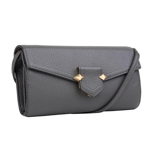 Die 3-in-1-Bag von Pourchet Paris: elegante Clutch, praktische Henkeltasche & trendige Crossbody-Bag. Dazu ein wahres Organisationstalent. Mode und Funktionalität trifft auf Täschner-Tradition seit 1903.