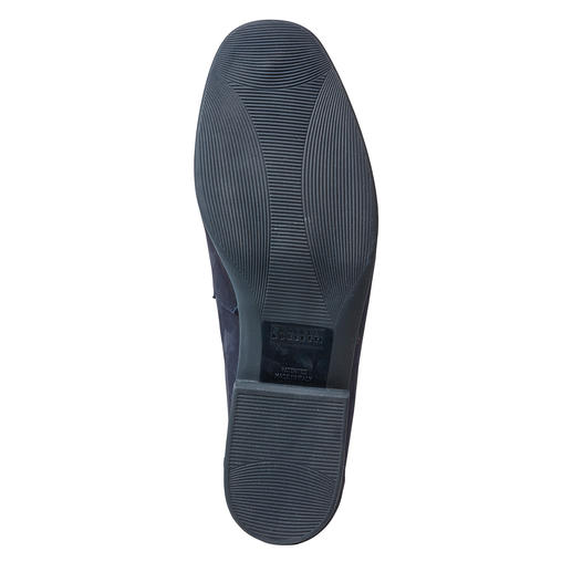 Fratelli Rossetti Barfuss-Mokassin, Leder Frottee-Futter macht diesen Mokassin zum idealen Barfuss-Schuh. Von Fratelli Rossetti.