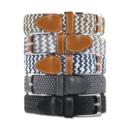 Belts Elastischer Gürtel, Damen - Genial bequemer Gürtel: stufenlos verstellbar. Und elastisch.
