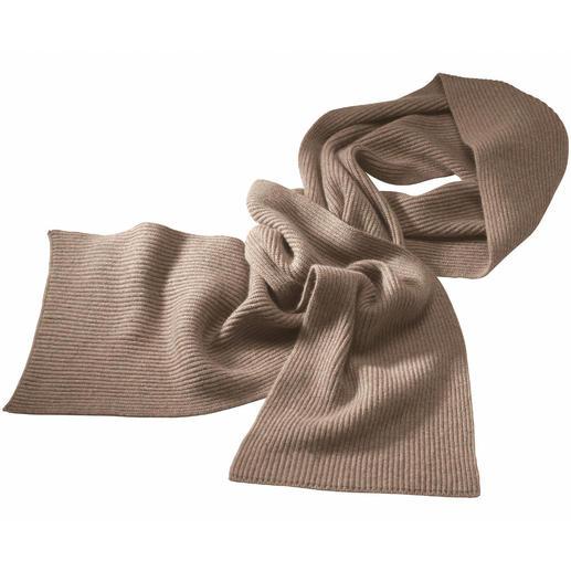 Schal, Beige-meliert