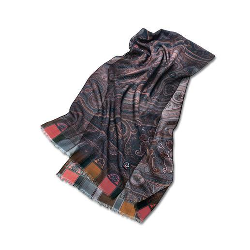 8 Herbstfarben-Schal 8 aktuelle Herbstfarben machen diesen Schal so schön und vielseitig.