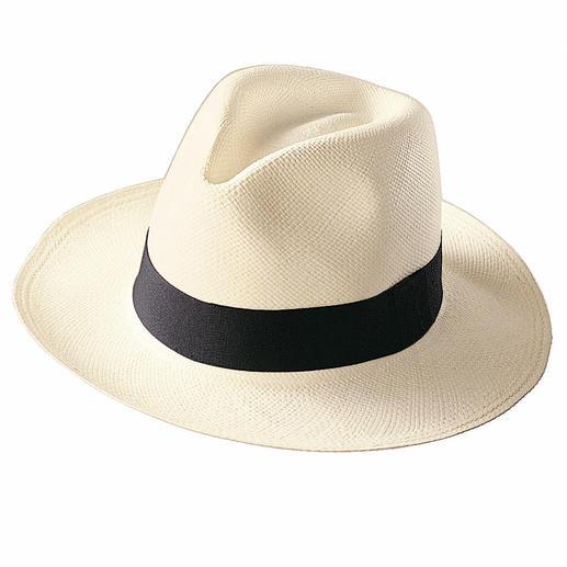 Panama-Hut Der echte Panama-Hut. Handgeflochten in Ekuador.