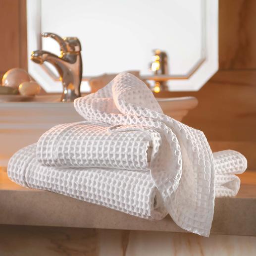 Waffelpiqué-Handtücher, 2er-Set Die Handtücher der Luxus-Hotels aus edlem, grosswabigem Waffelpiqué von Busatti 1842.
