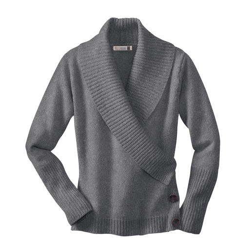 fisherman_wickelpullover - Grau