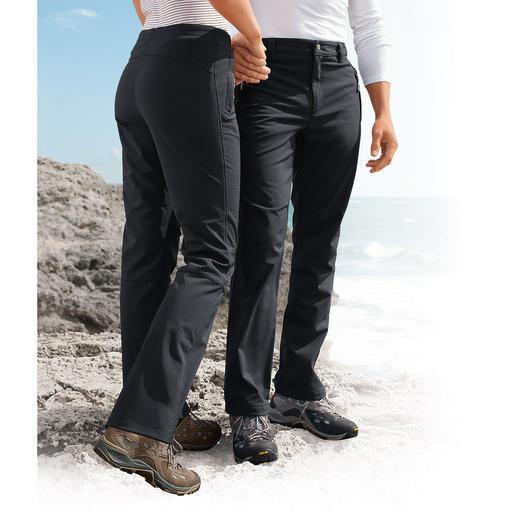 Softshell-Hose, Herren Dank Softshell schlank, leicht und trotzdem wärmend. Und sie sieht auch noch extrem gut aus.