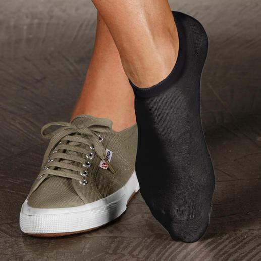 Sommer-Socken, 2-Paar-Set Diese Socken brauchen Sie, wenn Sie im Sommer am liebsten Schuhe barfuss tragen.