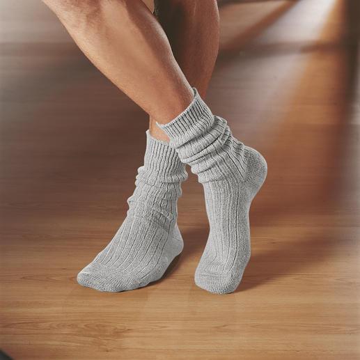 Corgi-Kaschmir-Socken Eine sanfte Wohltat nach einem harten Tag.