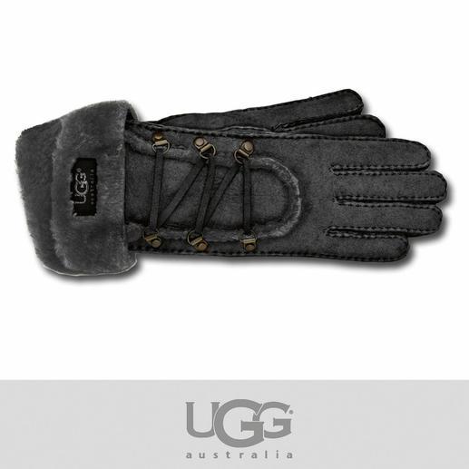 UGG®-Handschuhe - Kuschelig weich, ganz leicht und schön warm: Lammfell-Handschuhe von UGG® Australia.