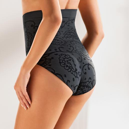 Seamless Top oder Slip Das Figur-Geheimnis der schönsten Frauen. Die Seamless-Wäsche formt raffiniert eine optisch schlanke Silhouette.