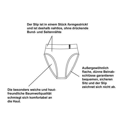 """""""Cult"""" Slip für Damen und Herren Nahtlos bequem und baumwollweich. Für Sie und Ihn."""