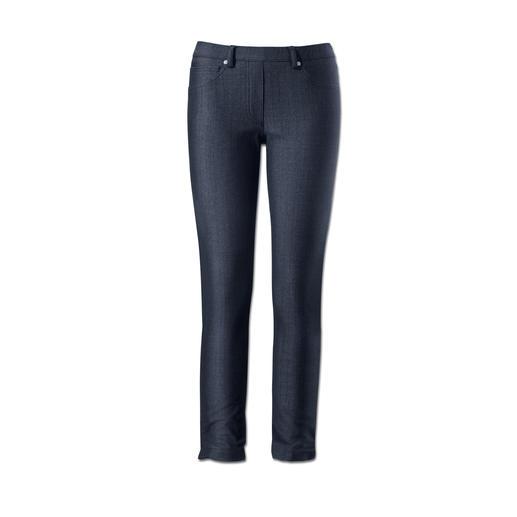 Blue Denim Jeggings Jeggings: Bequemlichkeit einer Leggings. Optik einer knackigen Jeans.
