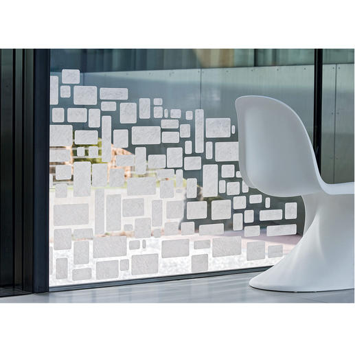 """Hafttextilien """"Gecko in the Box"""" Mehrfach preisgekrönter Sicht- und Blendschutz für die kreative Raumgestaltung"""