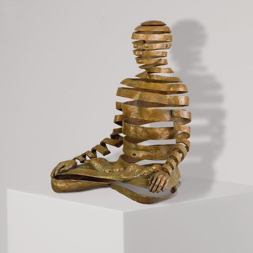 Sukhi Barber – Appearance/Emptiness Sukhi Barbers berühmtestes Werk. Jetzt als Unikatserie in Bronze. 16 Exemplare. Exklusiv bei Pro-Idee. Masse: 20 x 25 x 15 cm