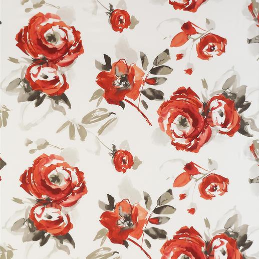"""Vorhang """"Bella"""", 1 Vorhang Ein Feuerwerk an Farbe und Ausdruck. Wie von Künstlerhand aquarelliert."""