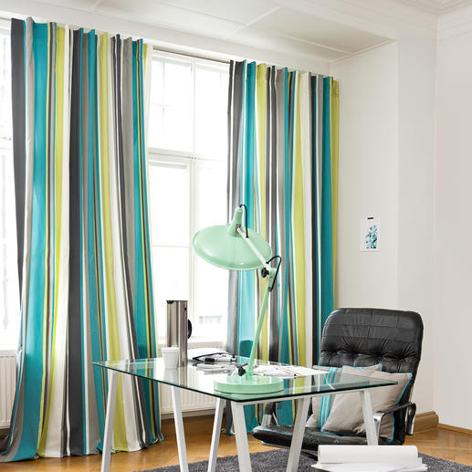 """Vorhang """"Casablanca"""", 1 Vorhang Nicht nur schön. Auch schalldämpfend."""