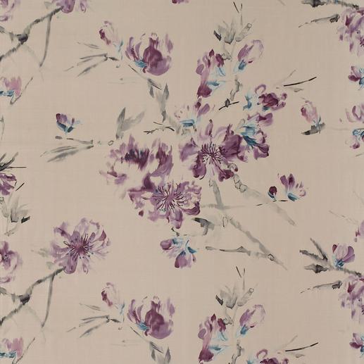 """Vorhang """"Oriental Flower"""" Floraldessin ohne jeden Kitschverdacht. In den Trendfarben der Saison."""