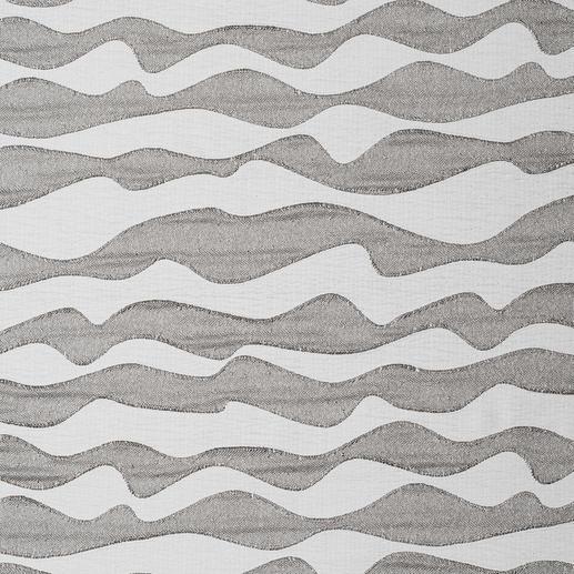 "Vorhang ""Atlantic"", 1 Vorhang Grosse Wellen, selten dezent: Ton in Ton aber raffiniert strukturiert."