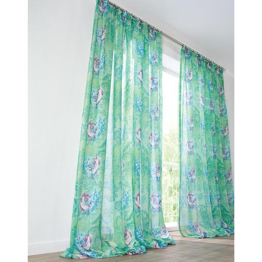 """Vorhang """"Fergana"""", 1 Vorhang Der kunstvolle Mix verschiedener Stil-Epochen trifft den Zeitgeist von heute und morgen."""
