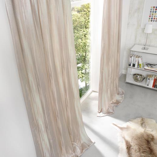 Vorhang Orinoco - 1 Stück Selten wirkt Abnutzung so edel – und ist so aufwändig gemacht.