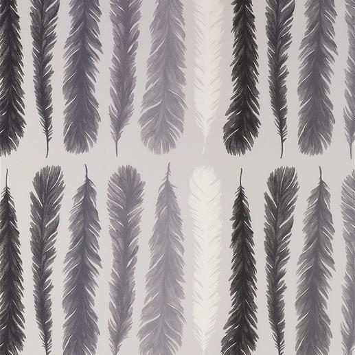 Vorhang Feather - 1 Stück Blockstreifen auf leichte Art.