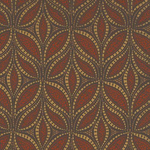 """Vorhang """"Tombre"""", 1 Vorhang Zeitgemässe Farben. Trendige Metallic-Akzente.  Aussergewöhnlich plastisches Dessin."""