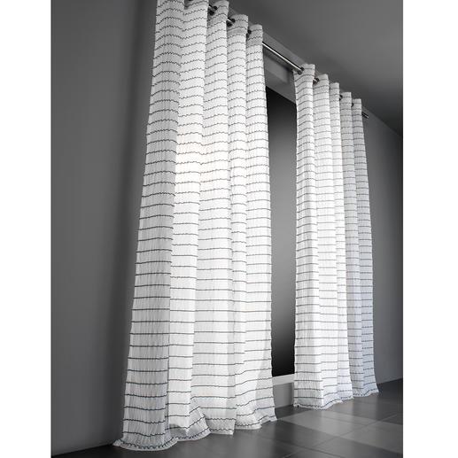 """Vorhang """"Leander"""", 1 Vorhang Aufregend anders. Technisch höchst anspruchsvoll: Die aussergewöhnliche Struktur dieses Inbetweens."""