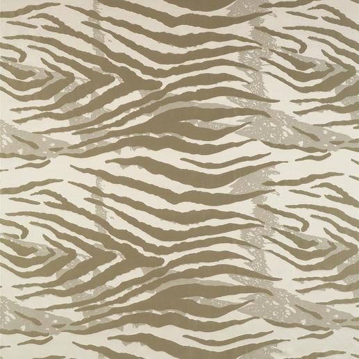 Vorhang Jackson - 1 Stück Messe-Highlight. Und Modethema: Naturtöne und Animal-Prints.