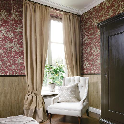 """Vorhang """"Linum"""", 1 Vorhang - Zurück zur Natur: Vorhang """"Linum"""" aus 100 % Leinen."""