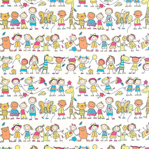 Vorhang Children - 1 Stück Kinderlachen, Eiscremefarben ...  Eindeutiger Favorit der Kinder (und Liebling der Eltern).