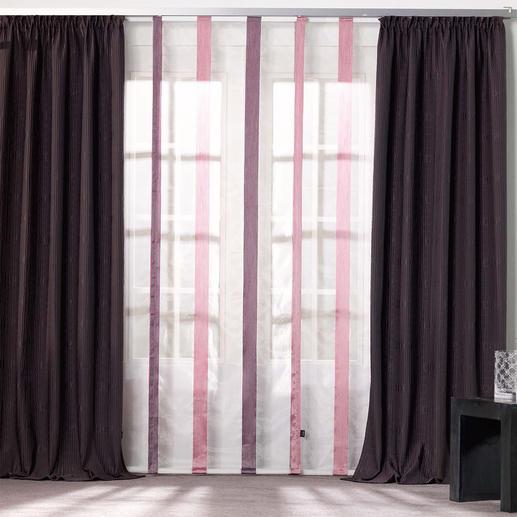 """Vorhang """"Wrinkel"""", 1 Vorhang - Dezente Farbe – Aufsehen erregende Struktur. Das voluminöse Crash-Gewebe von Joop!"""