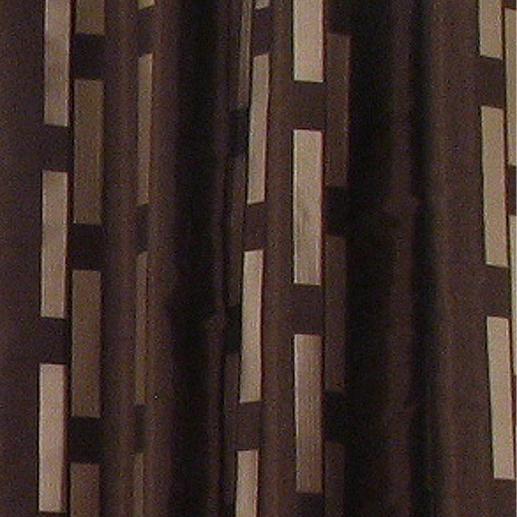 """Vorhang """"Cavallo"""", 1 Vorhang Das Geheimnis dieses plastisch wirkenden Dessins ist - Stickerei."""
