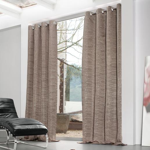 Vorhang Rain - 1 Stück So ultramodern kann ein Vorhang wirken.