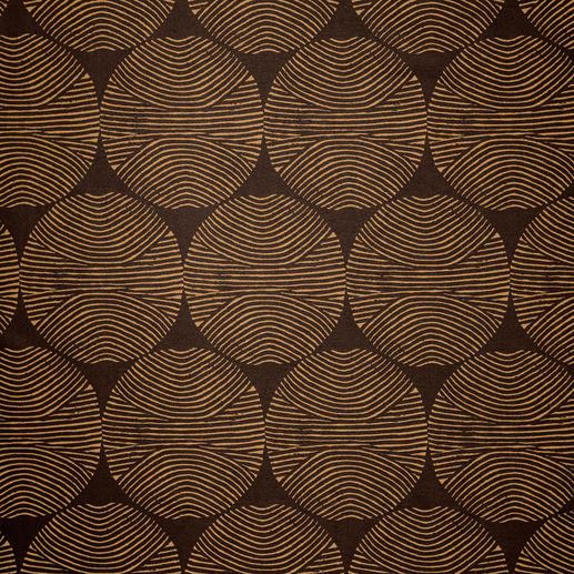 """Vorhang """"Circle"""", 1 Vorhang Farbe: Kuper. Form: Grafisch. Stil: 70er. 3-facher Trend-Treffer 2016."""