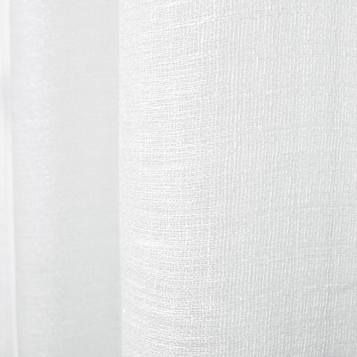 Vorhang Pino - 1 Stück Leinen mit Glimmer. Aber ohne kratziges Metallic-Garn.