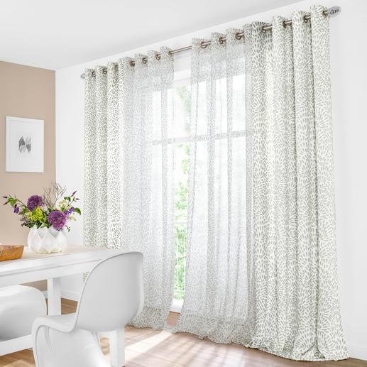 """Vorhang """"Avery"""", 1 Vorhang - Wildes Muster + zahme Farben = überraschend ruhiges Bild."""
