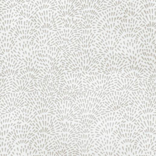 """Store """"Avery"""", 1 Store Wildes Muster + zahme Farben = überraschend ruhiges Bild."""
