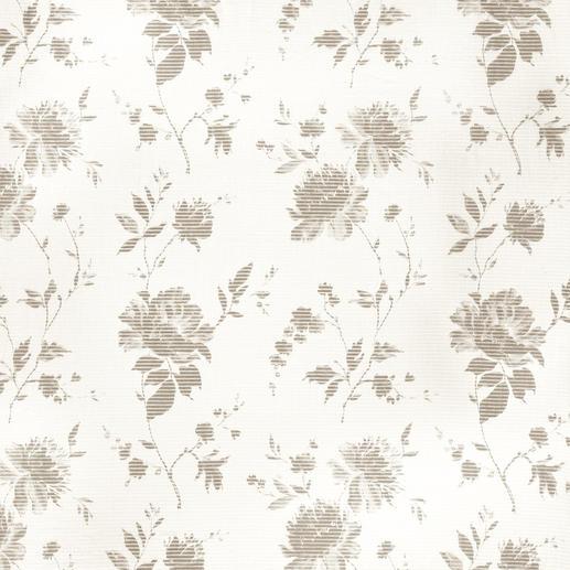 """Vorhang """"Provenza"""", 1 Vorhang Trendgerecht und dennoch rar: Horizontaler Transparent-Streifen aus Halbleinen."""