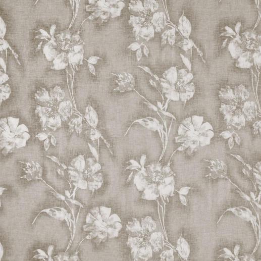 """Vorhang """"Fiora"""", 1 Vorhang Das beste Rezept für einen sommerlichen Inbetween: Sanfte Farbe. Zartes Dessin. Körnig kühles Leinen."""